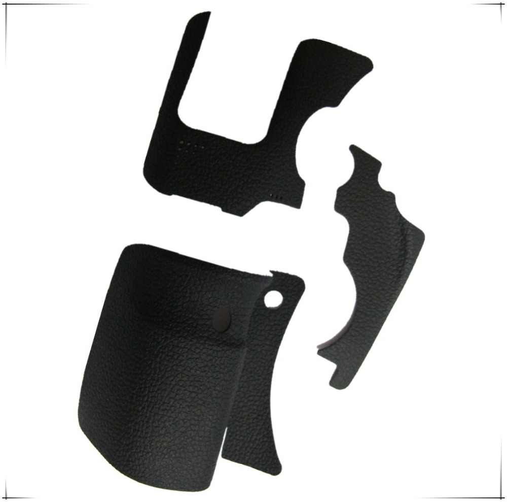 NEW Original A Set Of Body Rubber 3 pcs Front cover and Back cover Rubber For Canon EOS 6D repair spare parts