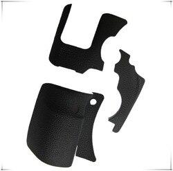 Novo original um conjunto de borracha do corpo 3 pçs capa dianteira e capa traseira de borracha para canon eos 6d reparação peças de reposição