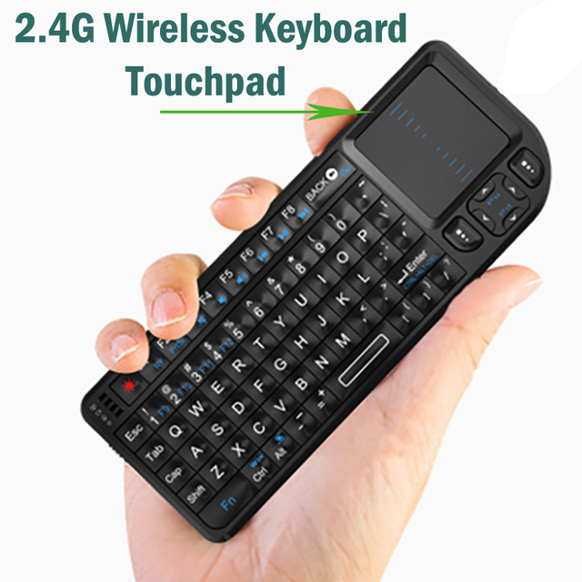 2.4G Wireless Keyboard Air Fly Mouse Original Mini Handheld Touchpad Keyboard for Smart TV for Samsung LG Android tv PC Laptop