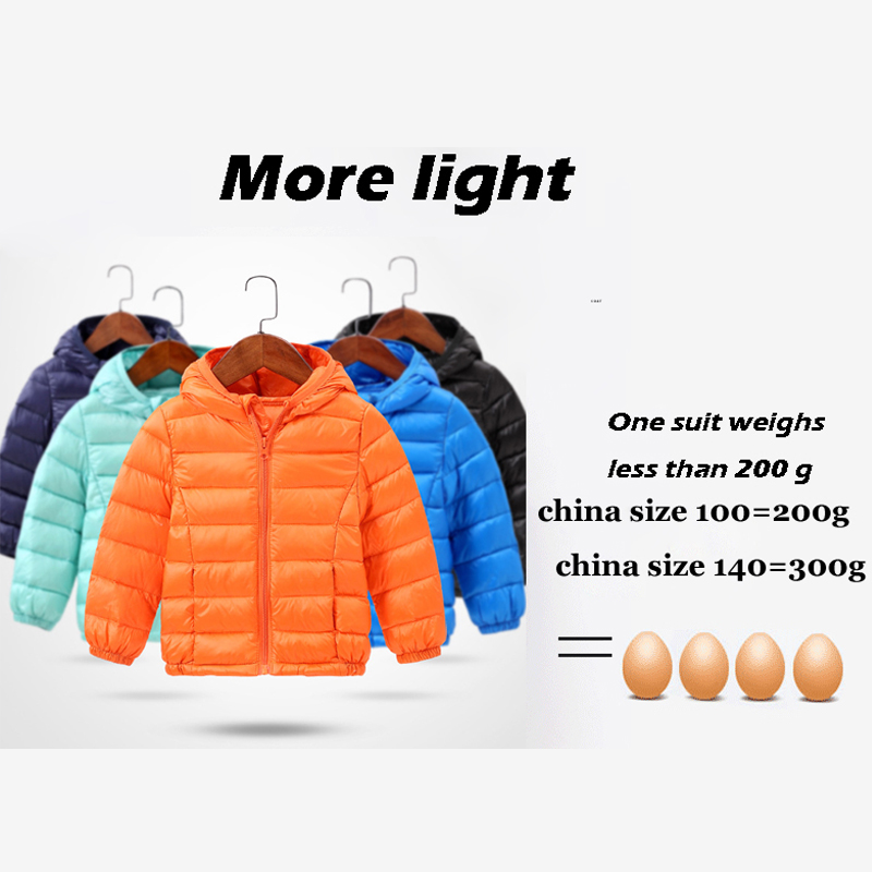 HH Children's winter jackets down jacket for girl autumn Warm hooded Long Sleeve baby toddler boys jacket kids parka outerwear