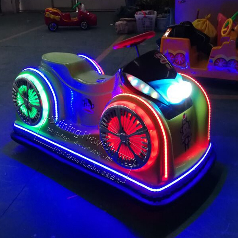 2019 New China Amusement Park Device Drive Racing Car Moto Motorbike Kiddie Rides Electric Bumper Cars