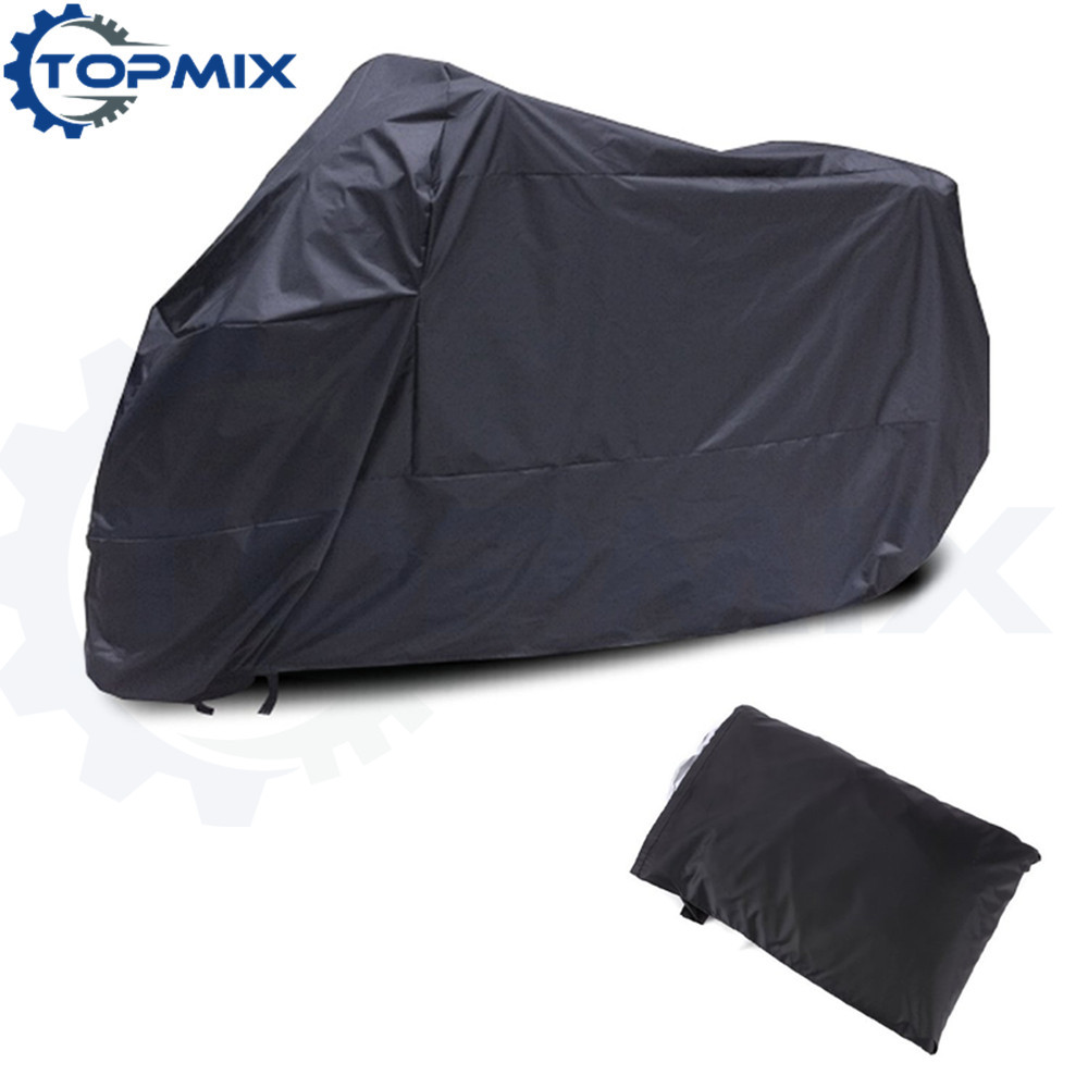 Motorcycle cover black 2