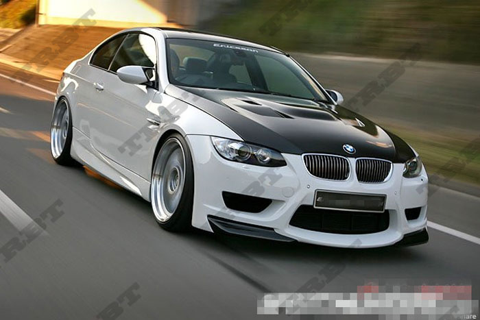 07-13 BMW 3 Series E92 E93 M3 E Risson STYLE CFRP Hood(1)