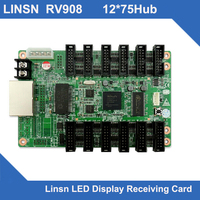 RV908 linsn receiving card led screen system match LED full color display sending card led singboard receiver