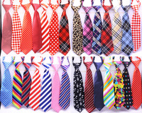 Wholesale Large Dog Neckties 50/80/100pcs/lot Mix 30color Large Size Dog Tie Neck Adjustable Large Dog Ties Grooming ties