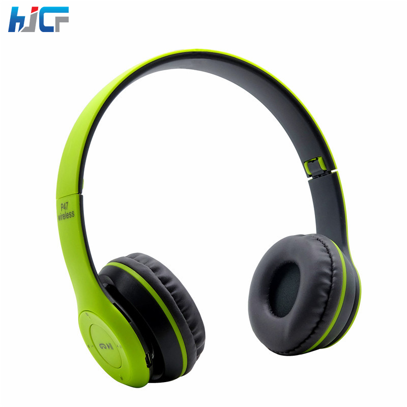 Bluetooth Headband Headphones Wireless Sport Bluetooth Earphone Folded Headset Stereo Noise Isolating for Xioami Samsung Iphone