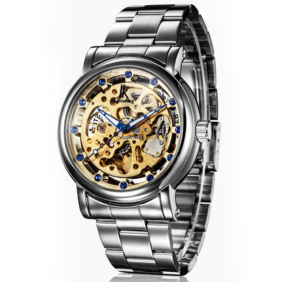 Mens Skeleton Automatic Watch Stainless Steel Strap Hollow Mechanical Watches Men Luminous Hands Top Brand Luxury Sport WatchMens Skeleton Automatic Watch Stainless Steel Strap Hollow Mechanical Watches Men Luminous Hands Top Brand Luxury Sport Watch