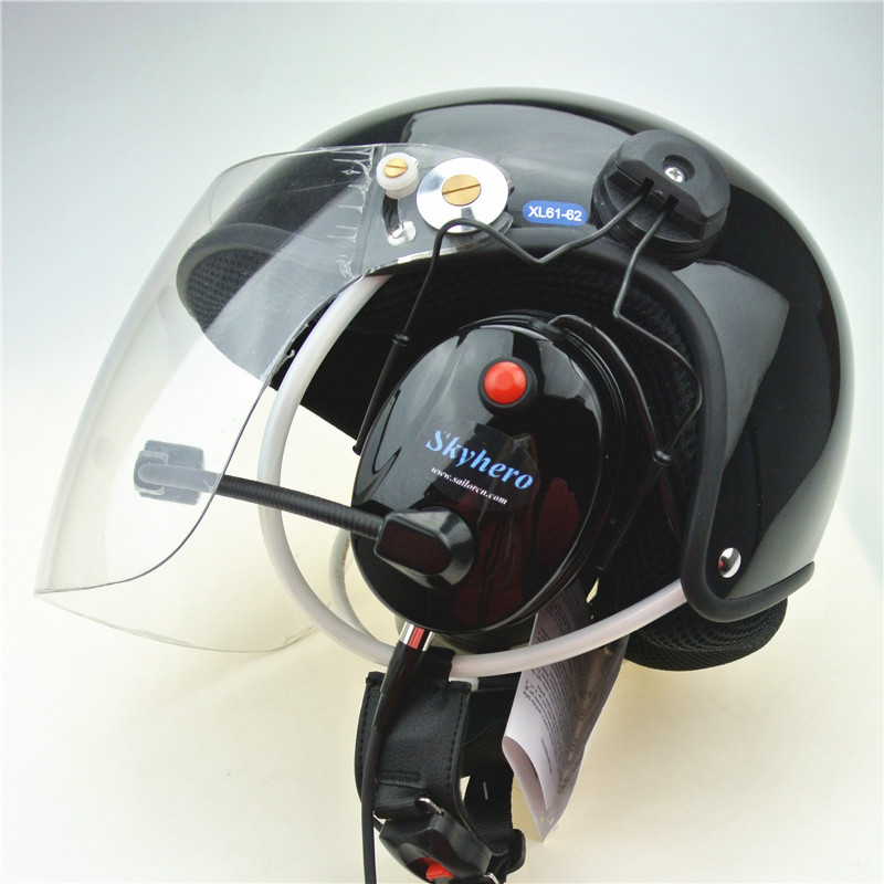 Ruído cancelar a PPG capacete Paramotor Parapente Motorizado capacetes Capacetes Fábrica venda diretamente