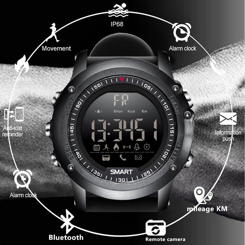 BANGWEI Sports Smart Watch Information Call Vibration Reminder Digital Clock Bluetooth Pedometer IP68 Waterproof Smart Watch bangwei men women smart watch information vibration reminder sedentary reminder music player fashion fitness smart digital watch