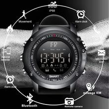 LIGE Sports Smart Watch Information Call Vibration Reminder Digital Clock Bluetooth Pedometer IP67 Waterproof Watch+Box