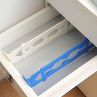 1Pc Retractable Adjustable Stretch Plastic Drawer Divider Organizer   Storage   Partition Board DIY   Home     Office   Tool