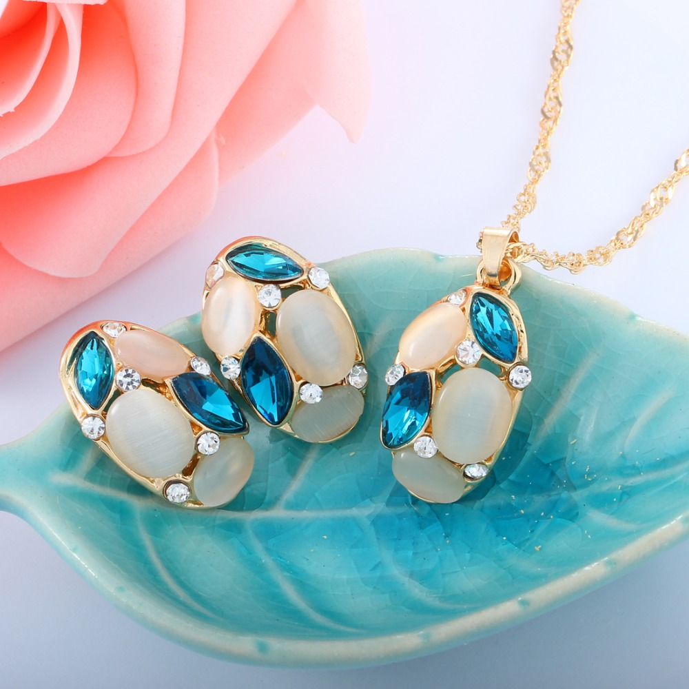 Cute Opal Jewelry Sets...
