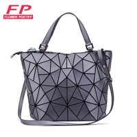 Bolso de hombro de marcas famosas para mujer bolsos luminosos geométricos bolso de hombro bolso de mensajero para mujer bolso de mujer Casual bolsas