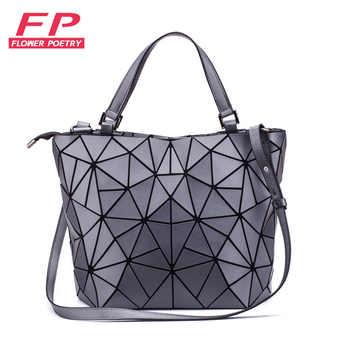 Famous Brands Women Shoulder Bag Geometric Luminous Handbags Shoulder Messenger Bag Ladies Bag Purse Female Casual Totes bolso - DISCOUNT ITEM  48% OFF All Category