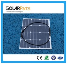 High efficiency 2pcs 50W flexible solar panel with sunpower solar module cell worked as battery power