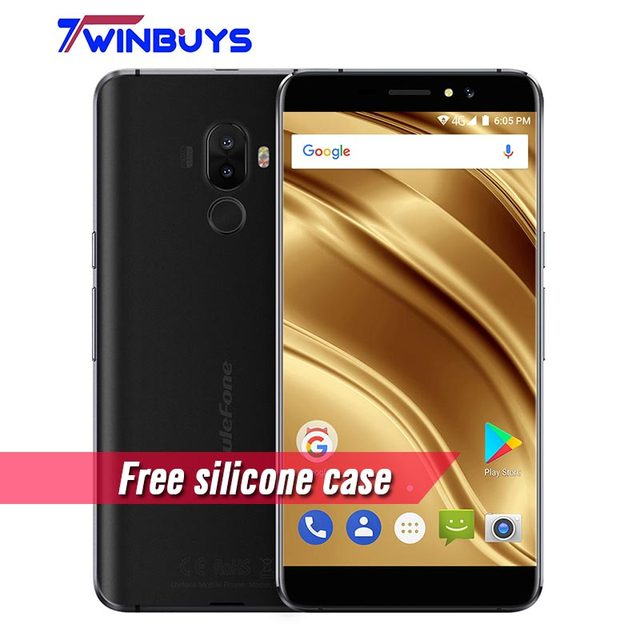 "Ulefone S8 Pro Mobile phone Android 7.0 2GB+16GB 5.3"" MT6737 Quad Core 13MP Dual Rear Cameras bezel-less fingerprint Smartphone"