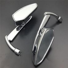 For Motorcycle Suzuki Intruder Volusia Boulevard CHROME Spear Blade rearview mirrors
