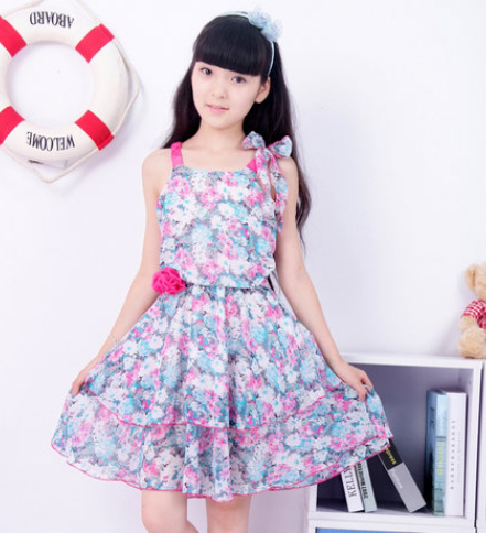 Teenage Girl Party Dress Children Promotion-Shop for Promotional ...