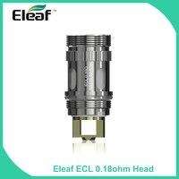 5pcs Lot 100 Original Eleaf ECL 0 18ohm Coil Head SS316 50 80W For IJust S