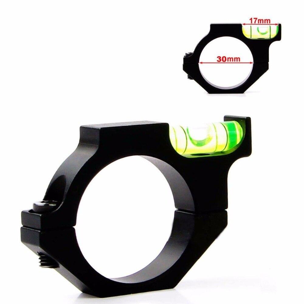 Cvlife caza aleación burbuja nivel de aire fit 30mm tubo láser alcance la vista