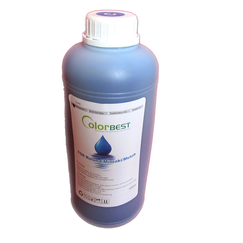 Eco solvent ink compatible for Roland/Mimaki/Mutoh printer color C hot sell original dx4 eco solvent printhead for roland mimaki and mutoh printer