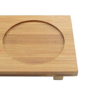 Image 5 - Wituse Bamboe Thuis Mini Wereld Tuin Decoratie Pot Trays Miniatuur Beeldjes Bloempot Voor Keuken Huishoudelijke Opslag Items