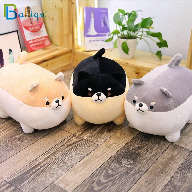 Babiqu 1 stück 40/50 cm Fett Shiba Inu Hund Plüsch Angefüllte Nette Tier Corgi Chai Hund Weichen sofa Kissen Schöne Geschenk für Kinder Kinder