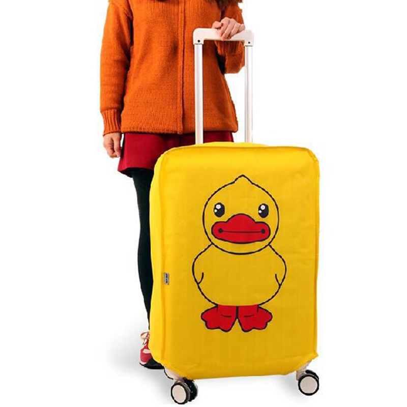 Travel accessories Super value Luggage cover Suitcase dust cover Baggage box set Cute animals waterproof Trolley protective case