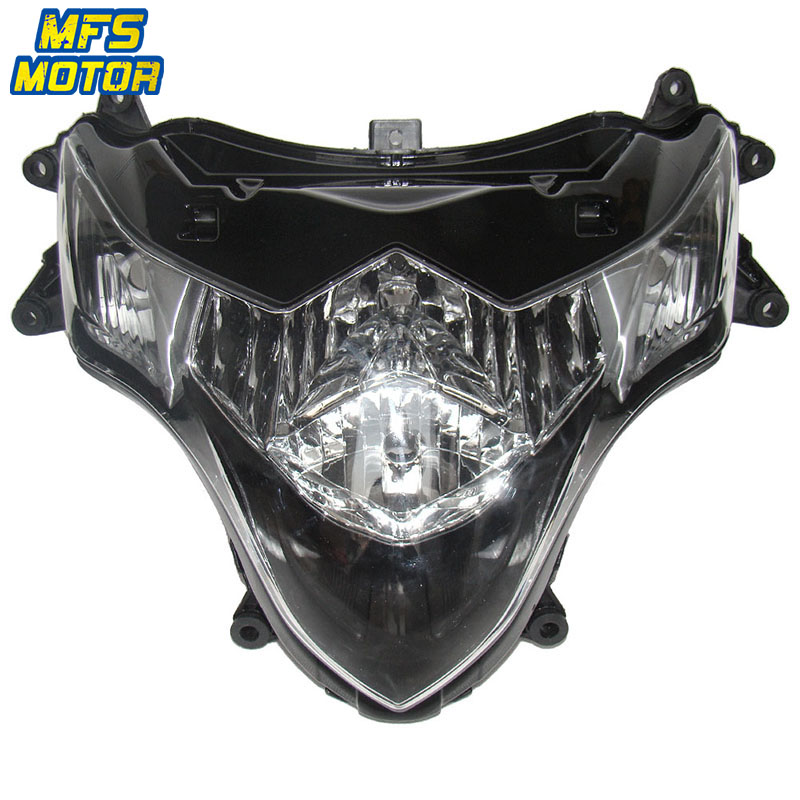 For 09-15 Suzuki K9 GSXR1000 GSX-R GSXR 1000 Motorcycle Front Headlight Head Light Lamp Headlamp Assembly 2009 2010 2011-2015For 09-15 Suzuki K9 GSXR1000 GSX-R GSXR 1000 Motorcycle Front Headlight Head Light Lamp Headlamp Assembly 2009 2010 2011-2015