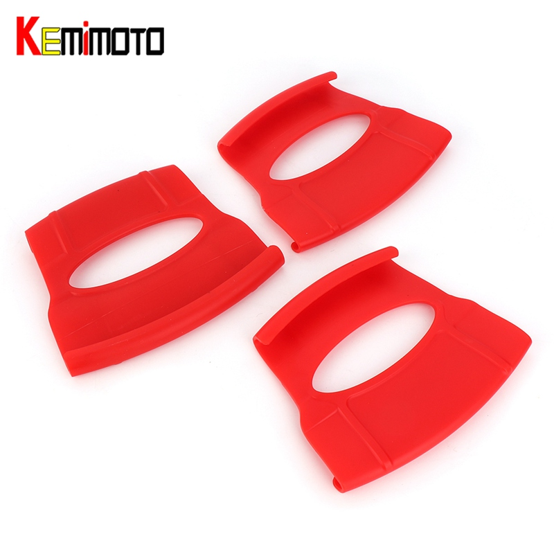 KEMiMOTO Motorcycle Accessories New RimShield Set of 3 Rim Protector Guard Tool For KTM Motocross Enduro Dirt Bike MT07 R3