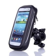 Универсальный Велосипедный мотоциклетный держатель для мобильного телефона для samsung iPhone GPS для велосипеда Moto держатель водостойкая сумка Soporte Movil Moto