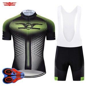 Image 4 - Crossrider 2020新ジャージセットmtb制服バイク服ロパciclismo自転車ウエア服メンズショートマイヨキュロット