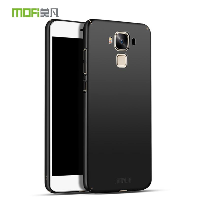the latest ad493 ffeb5 US $6.34 |For Zenfone3 MAX ZC553KL Case MOFI PC Shield Matte Full Ultra  thin Slim Back Cover for Zenfone 3 MAX ZC553KL Phone Capas Fundas-in ...