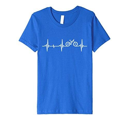 Mountain Biker Heartbeat T-Shirt for MTB Bikers Print T Shirt Mens Short Sleeve Hot Top Tee T Shirt Hot Sale Clothes