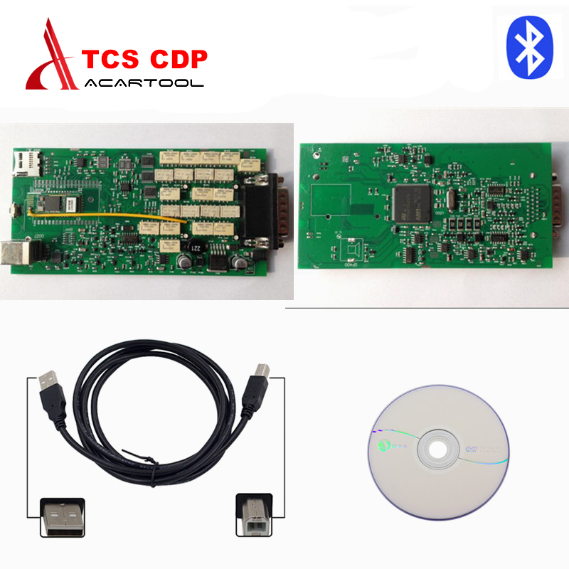 Newest Single green board CDP Pro Plus with Keygen bluetooth for car truck OBD2 Diagnostic scanner free shipping  with bluetooth function super tcs cdp pro plus keygen led 3 in1 sn 100251 obdii obd obd2 scanner diagnostic interface cdp pro