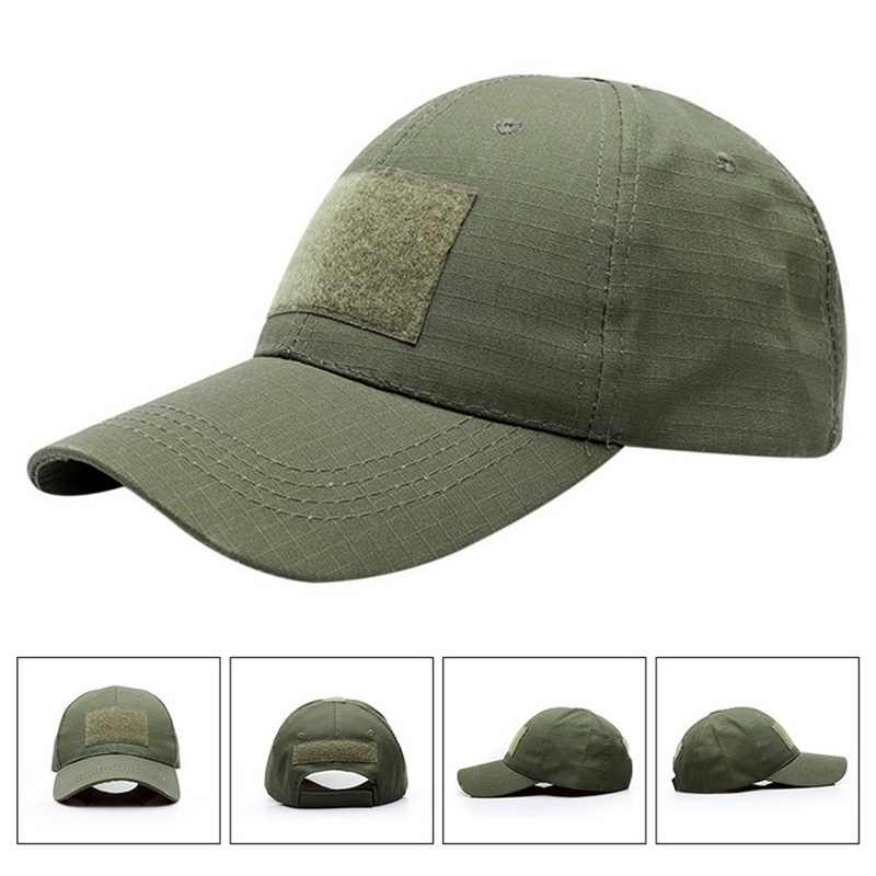 f9ba17da33b45 ... 17 Patterns Snapback Camouflage Military Tactical Hat Patch Army  Tactical Baseball Cap Unisex ACU CP Desert ...