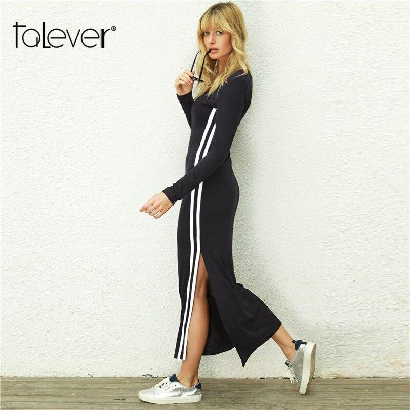 867b85b3624 Купить Женское повседневное осенне зимнее длинное платье женское ...