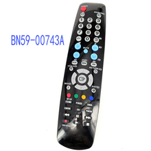 New REPLACEMENT BN59-00743A Fit For Samsung Universal 3D LCD TV Remote Control BN5900743A Television Controller new replacement for samsung generic bn59 00974a lcd monitor projector controller voip remote control vc240