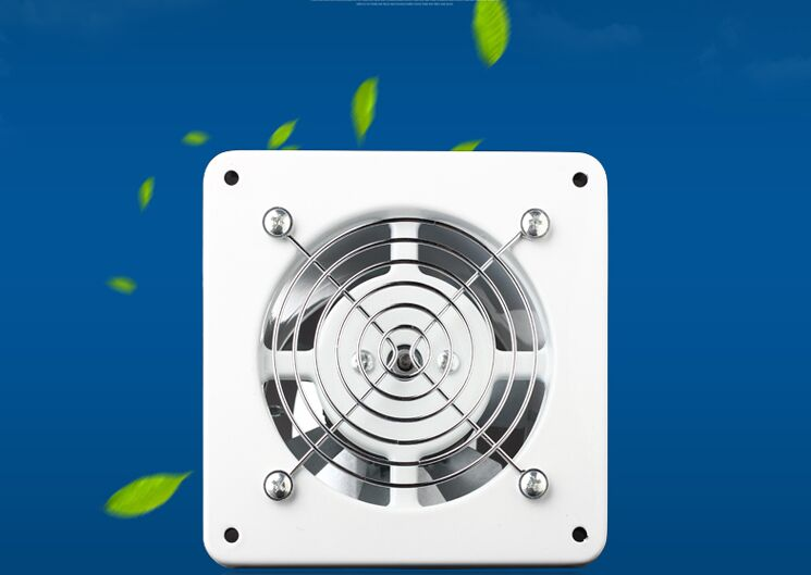 4 inch 4'' kitchen 100MM toilet wall Exhaust fan Duct blower powerful mute axial flow fan ventilator 25W 2800RPM good working new dhl ems for duct blower powerful mute axial flow fan ventilator kitchen toilet wall 8 inch 200 mm exhaust fan