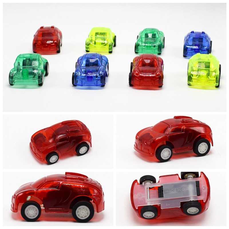 10pcs Baby Toys Pull Back Cars Plastic Cute Toy Cars for Child Wheels Mini Car Model Funny Kids Toy for Boys Random Ship