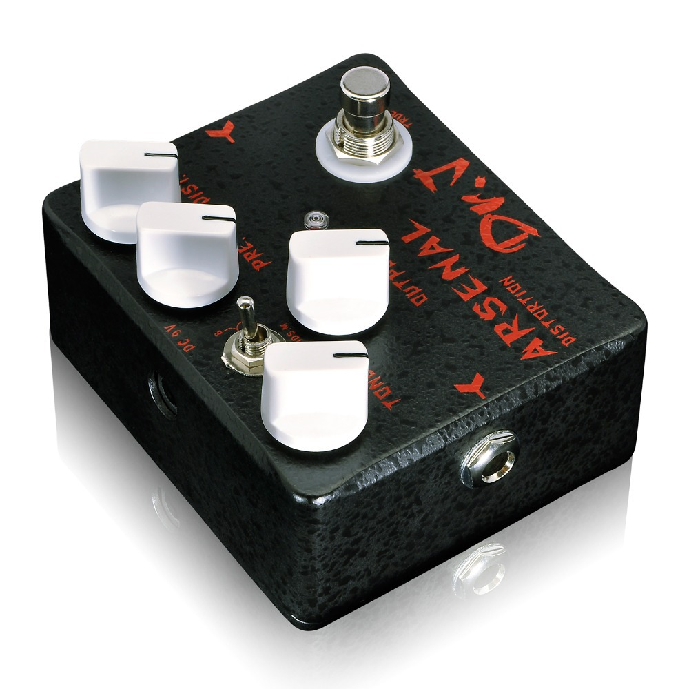 Dr. J D-51 Arsenal Professional Guitar Accessories Distortion Electric Guitar Effect Pedal Overdrive efeito True Bypass aroma aod 1 electric guitar bass overdrive distortion effect pedal true bypass