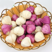 050 Simulation of garlic foam  fake garlic, white skin, onion and vegetable 5.5*6.5cm