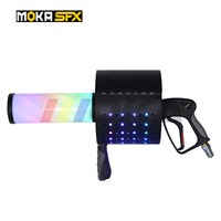 LED CO2 Confetti Gun Stage Effect CO2 Jet Machine 7 Colors Manual Control LED Co2 Cryo Jet Confetti Cannon Machine