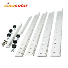 Triangle Aluminum 550mm Solar Panel Mounting Bracket For Roof