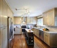 2017 Новый Стиль Классические Твердые Деревянные Кухонные Шкафы Американский Твердой Древесины Кухонная Мебель Бесплатный Дизайн для Вас