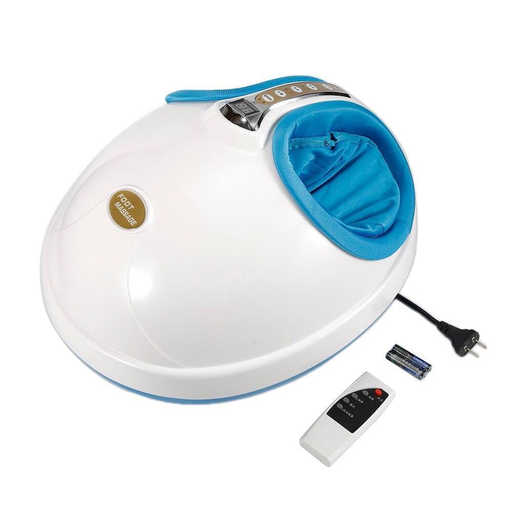 UE Plug 220 V Électrique Chauffage Antistress Masseur Infrarouge Vibrateur Massage des Pieds Machine Soins Des Pieds Dispositif HWC