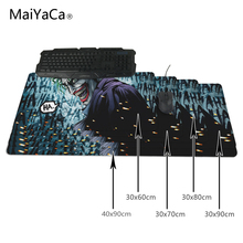 MaiYaCa For The Batman Joker Mortal kombat Mantis Speed Gaming Edition Mouse Pad 900*300mm Locking Edge Mouse Mat for PC Laptop