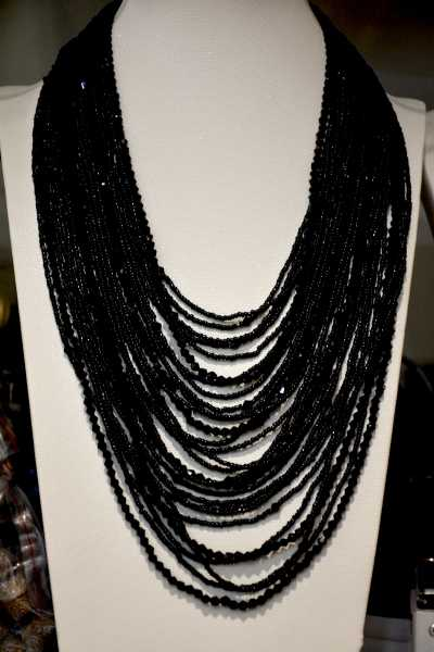 2017 Maxi Necklace Collier Collares Fashoin Crystal Jewelry 28 Layer Handmade And Czech Seed Bead Statement Necklace For Party