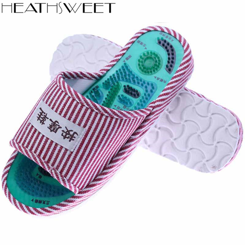 Healthsweet 1 pair Reflexology Acupoint Slipper Shoes Massage Blood Circulation Relaxation Health Foot A223 massage foot model small model a pair