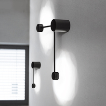 Modern Minimalist LOFT LED Wall Lamp Bedside Lights Room Bathroom Mirror Light Direct Creative Aisle Hanging